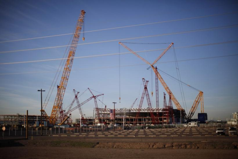 A view shows an Intel plant under construction in Chandler, Arizona January 25, 2012.