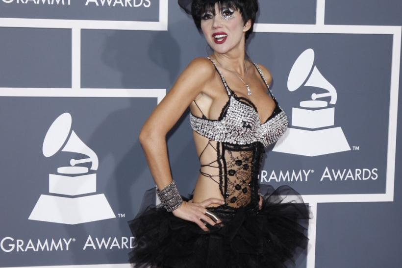 Singer Nadeea arrives at the 54th annual Grammy Awards in Los Angeles, California