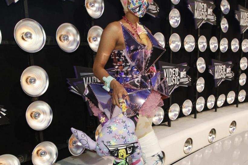 Singer Nicki Minaj at the 2011 MTV Video Music Awards in Los Angeles