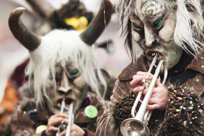 Luzern-Carnival in Lucerne, Switzerland