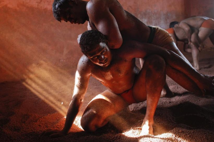 Indian Mud Wrestlers