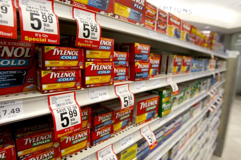 Johnson & Johnson said it is recalling about 574,000 bottles of its grape-flavored liquid infant Tylenol in the United States after parents complained about problems with the dosing system. The recall is the latest in a long series for J&J's consumer