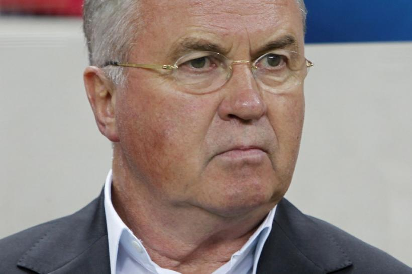 Guus Hiddink, who has been named the new manager of Russin side Anzhi Makhachkala.