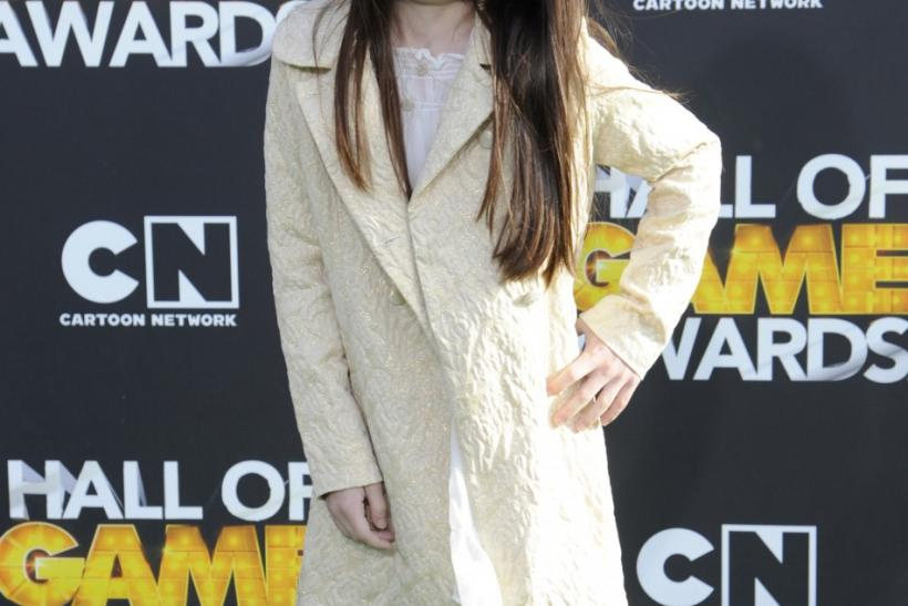 Landry Bender arrives at the Cartoon Network's Hall of Game Awards