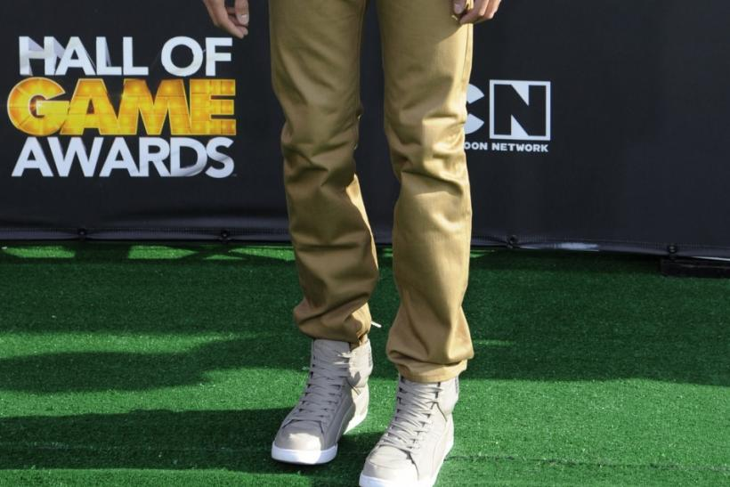 Chris Galya arrives at the Cartoon Network's Hall of Game Awards