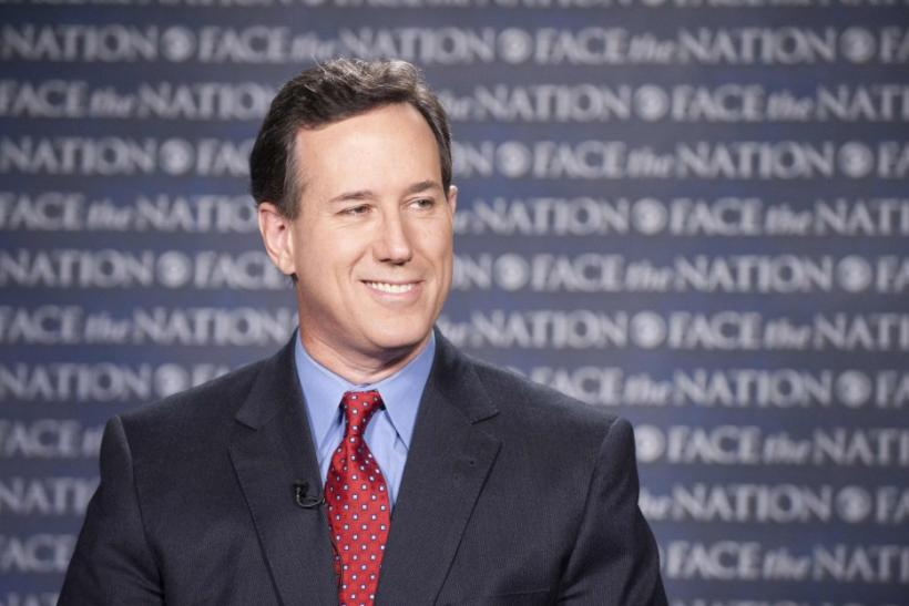 Santorum, after wins in Minnesota, Missouri and Colorado, is suddenly Romney's main challenger in the state-by-state race to determine which Republican will face Obama in the November 6 election.