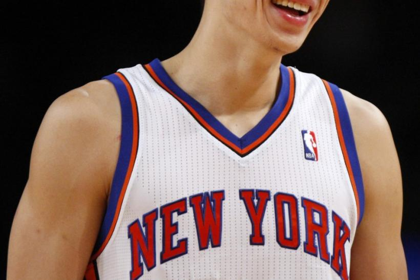 Jeremy Lin, in action here against the New Jersey Nets, is to be the subject of a new book