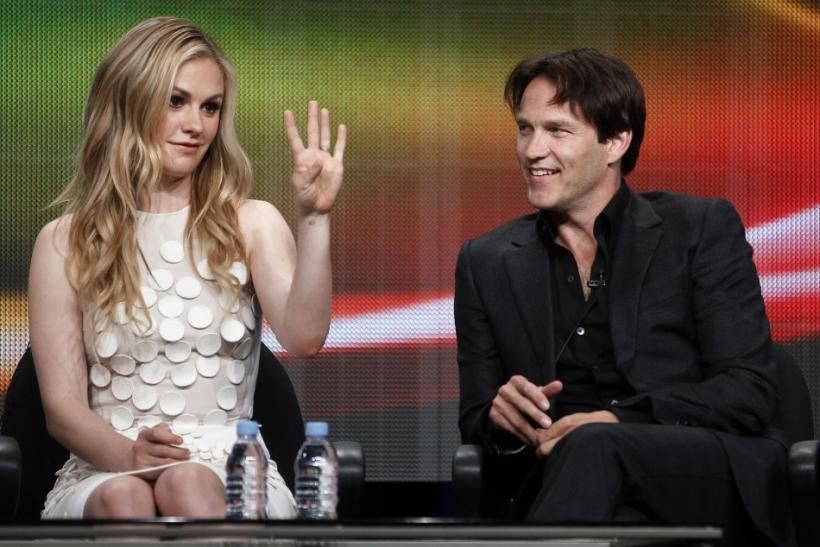 Stephen Moyer and Wife Anna Paquin