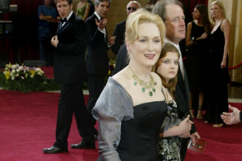 Meryl Streep at the 2003 Oscars