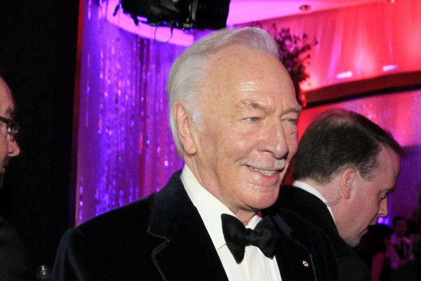 "Plummer, winner of best supporting actor award for his role in ""Beginners"", arrives at Governors Ball in Hollywood"