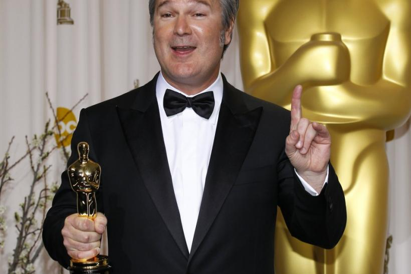 "Director Verbinski, winner of Animated Feature Film award for ""Rango"", poses at 84th Academy Awards in Hollywood"