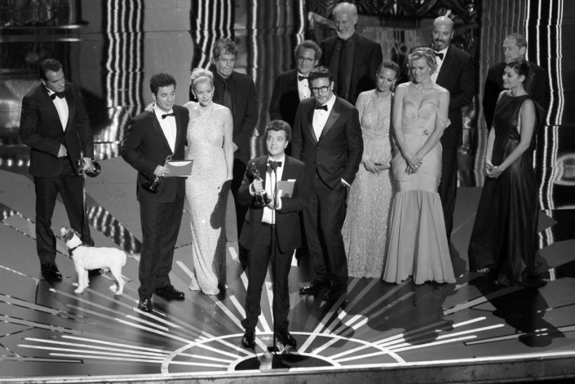 """""""The Artist"""" Cleans up at Oscars 2012"""