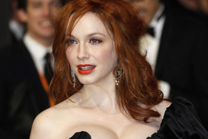 Christina Hendricks was voted sixth most beautiful woman of 2012 by People magazine