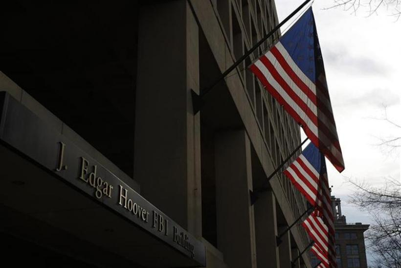 The main headquarters of the FBI, the J. Edgar Hoover Building, is seen in Washington