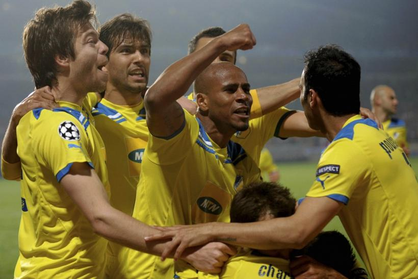 Watch all the highlights from Apoel Nicosia's incredible penalty shootout victory over Olympique Lyonnais.