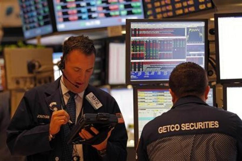 Wall Street opens higher on euro zone, retail sales