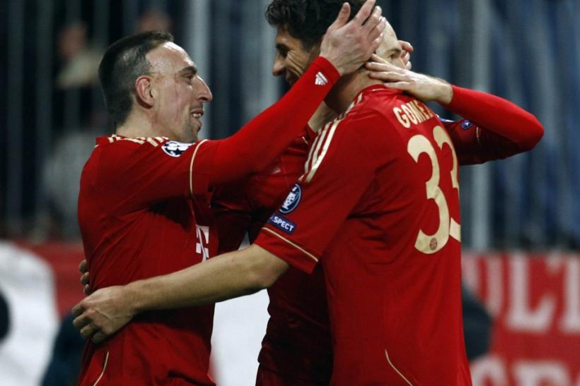 Watch highlights of Bayern Munich Vs. Basel in the Champions League.