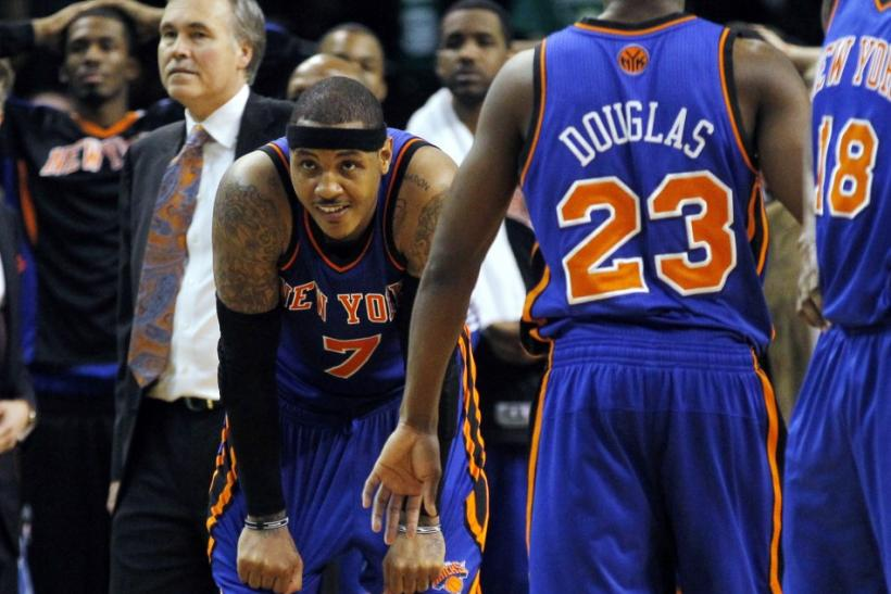 Carmelo Anthony was unable to perform well in Mike D'Antoni's offensive system.