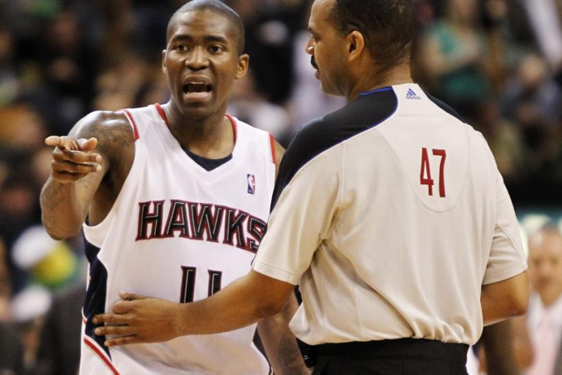 Jamal Crawford was named the NBA's Sixth man of the Year in 2010.