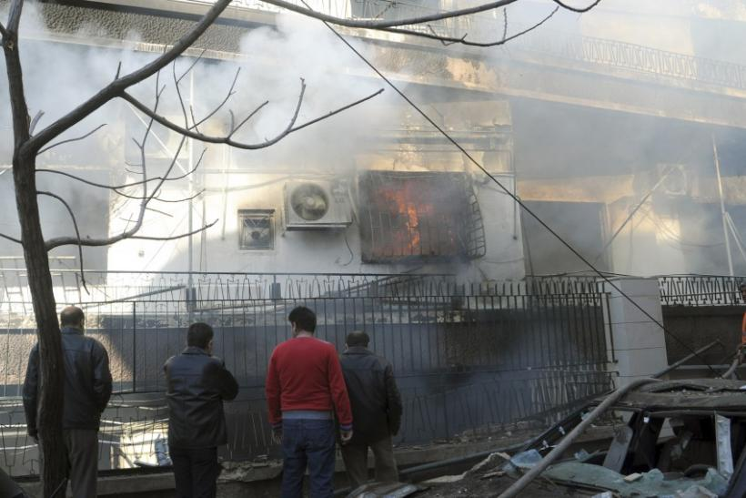 Twin Blasts Hit Syrian Capital Damascus