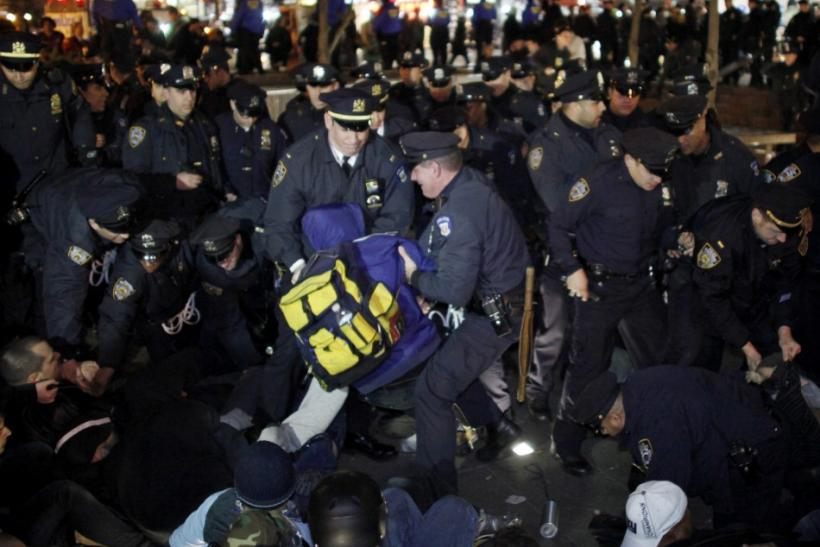 Dozens of Occupy Wall Street Protesters Arrested