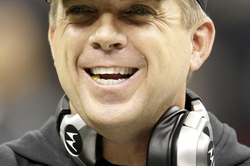 New Orleans Saints head coach Sean Payton