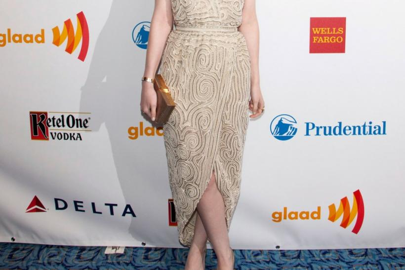 Celebrities at the New York 2012 Annual GLAAD Media Awards