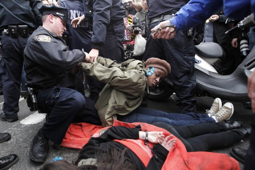 Occupy Wall Street March: Protests in New York