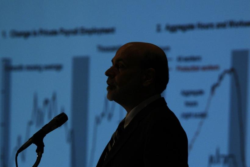 Federal Reserve Board Chairman Bernanke addresses the National Association for Business Economics in Virginia