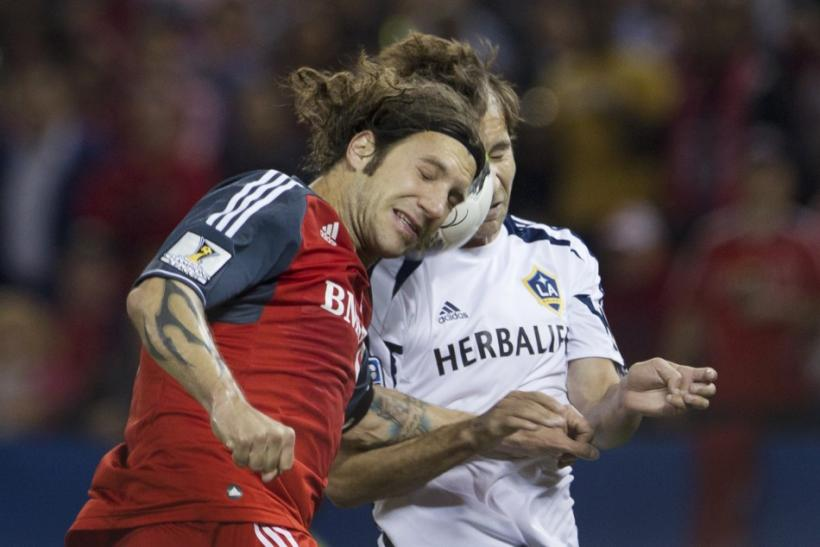 Toronto FC will be without Torsten Frings for their CONCACAF Champions League semi-final first-leg with Santos Laguna on Wednesday