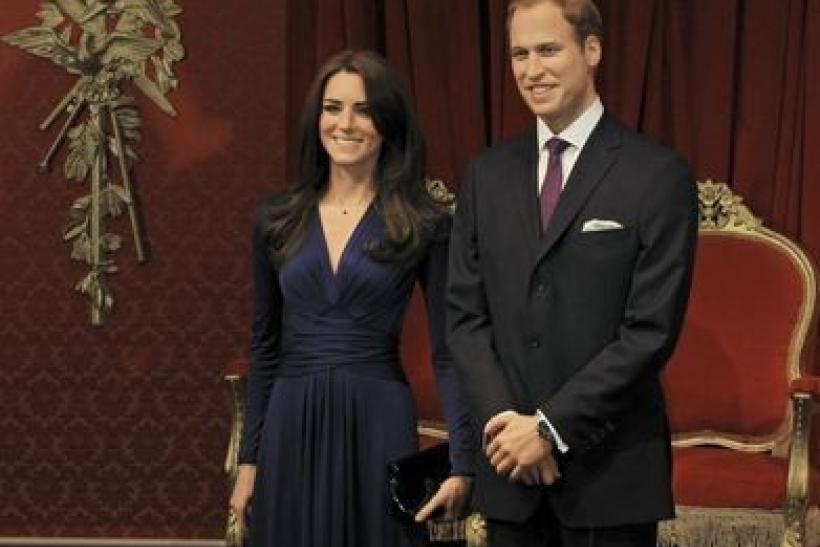 Kate and William's wax figures unveiled at Madame Tussauds (PHOTOS)
