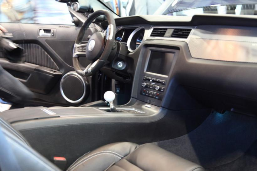 Interior of the Shelby 1000 at the New York International Auto Show 2012.