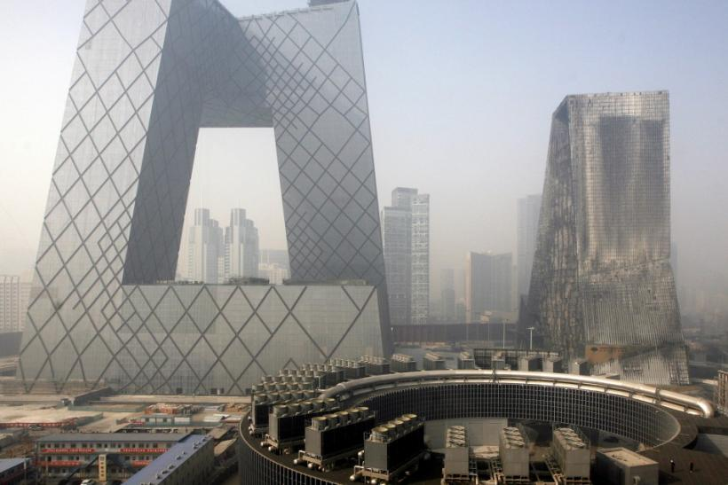 The CCTV building was initially supposed to be completed by the start of the Beijing Olympics in 2008.