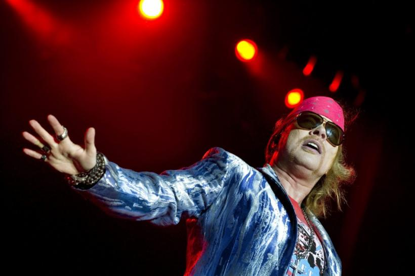 Axl Rose 'Respectully' Declines Any And Every Part Of Rock Hall Induction
