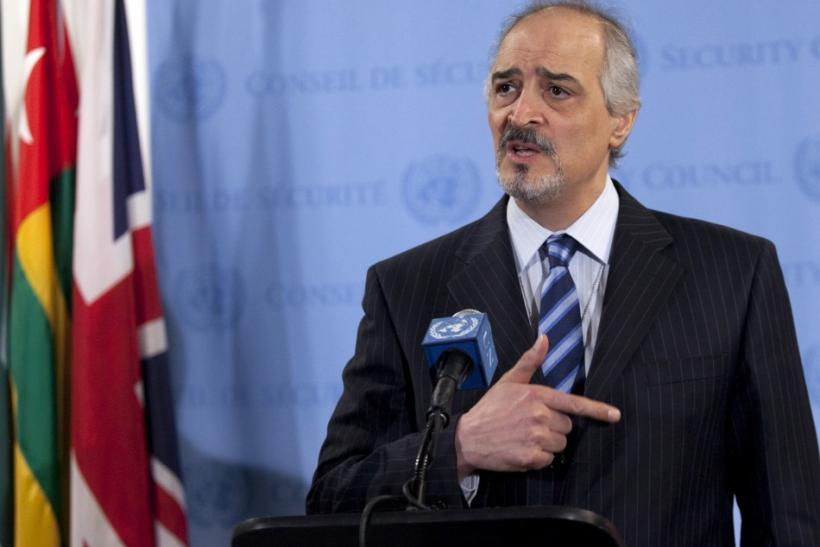 Bashar Ja'afari, Syria's ambassador to the United Nations