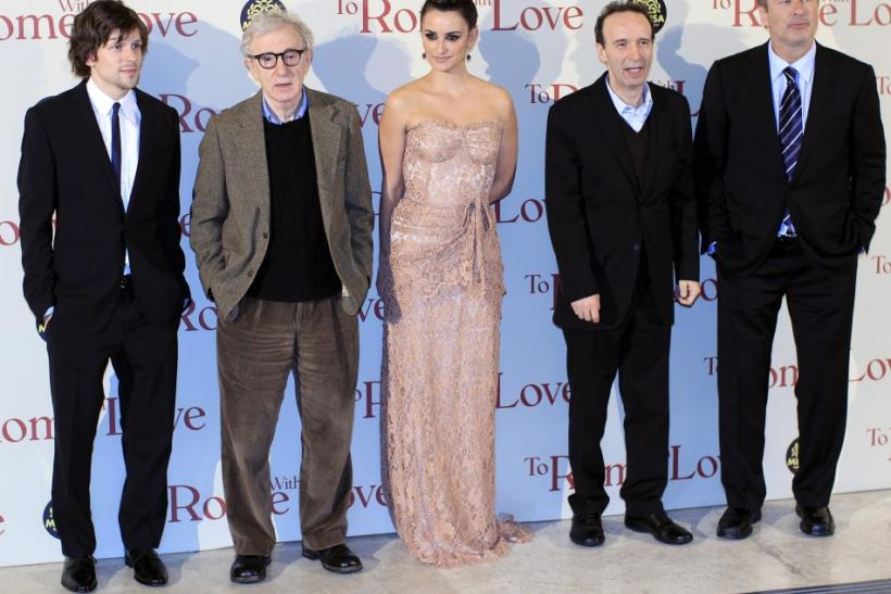 Woody Allen's 'To Rome, With Love' Premiere