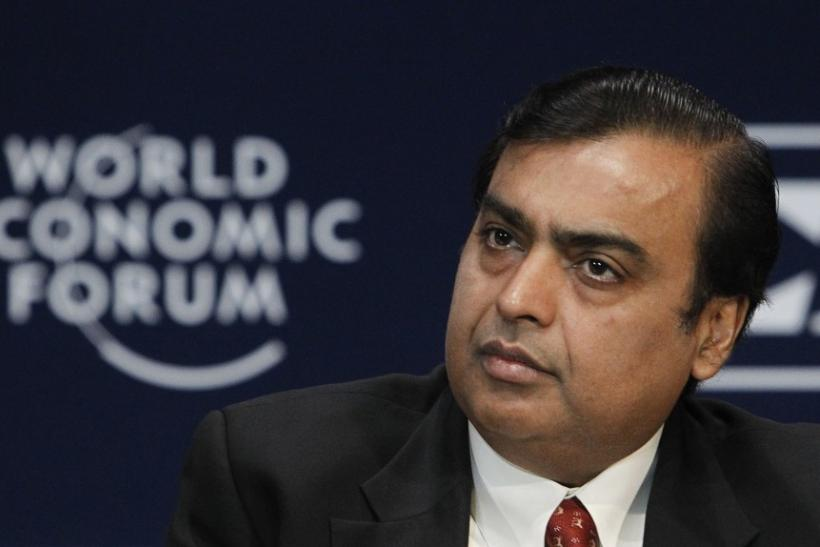 Chairman and Managing Director of Reliance Industries Mukesh Ambani, the richest man in India