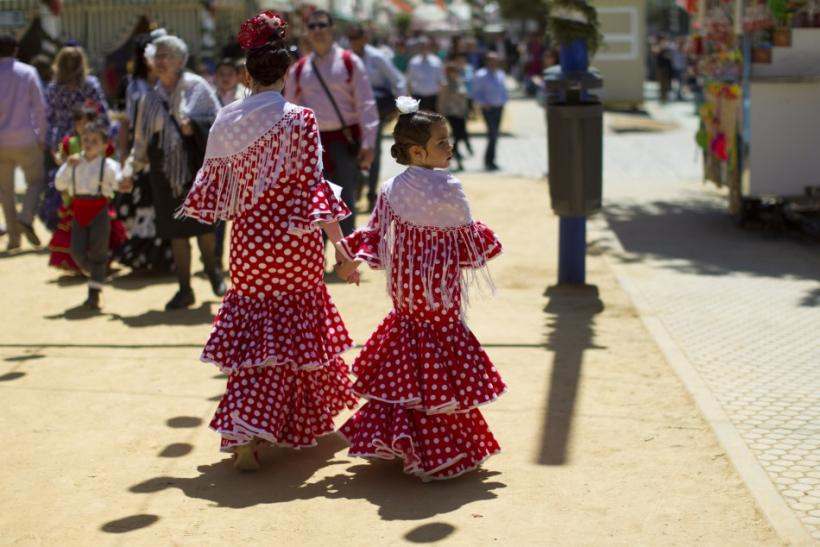 The Feria de abril de Sevilla (Seville April Fair)