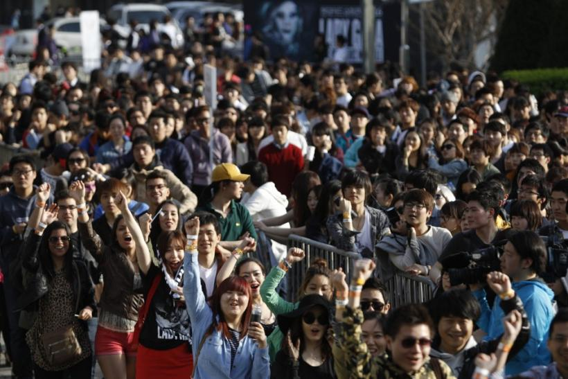 Lady Gaga Fans in South Korea