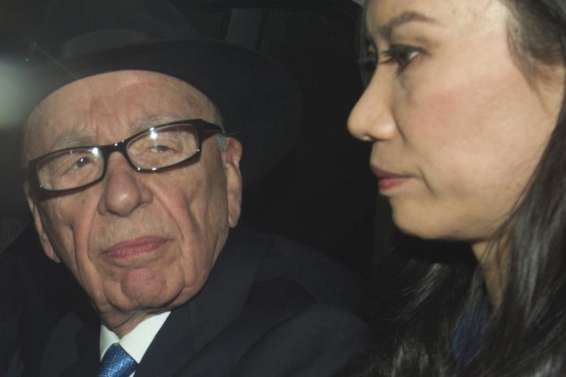 News Corporation Chief Executive and Chairman, Rupert Murdoch, leaves after giving evidence for the second day at the Leveson Inquiry at the High Court in London
