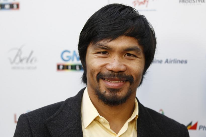 "Manny Pacquiao Says ""I Love Everybody"""