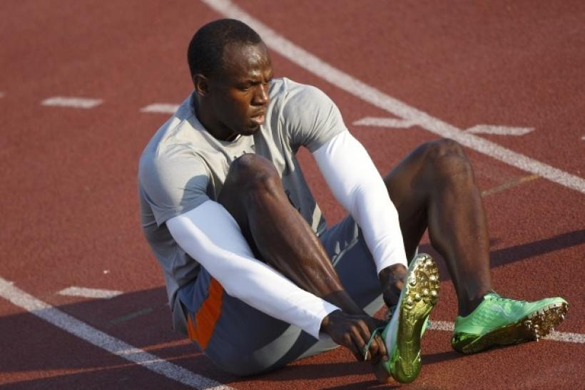 Usain Bolt holds the record for running the 100 meter sprint in 9.58 seconds.