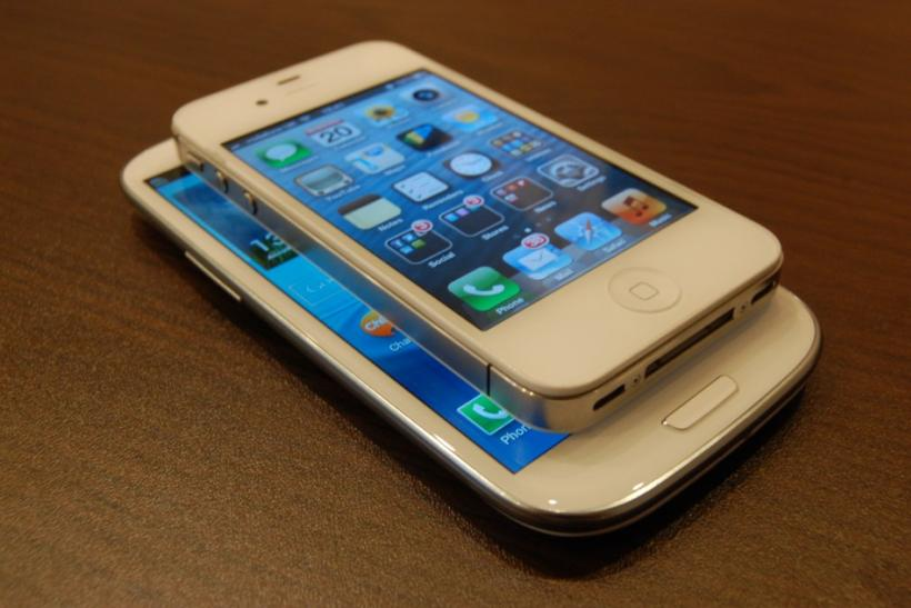 Samsung Electronics' Galaxy S3 vs Apple's iPhone 4S