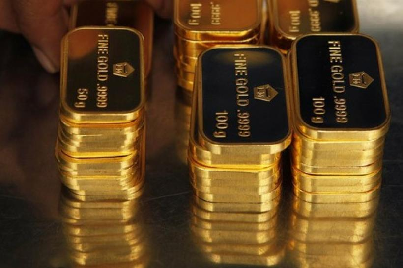 Gold Eases With Euro, Commodities Ahead Of EU Summit