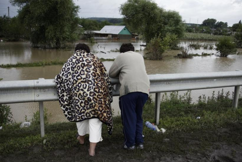 Russia flash floods