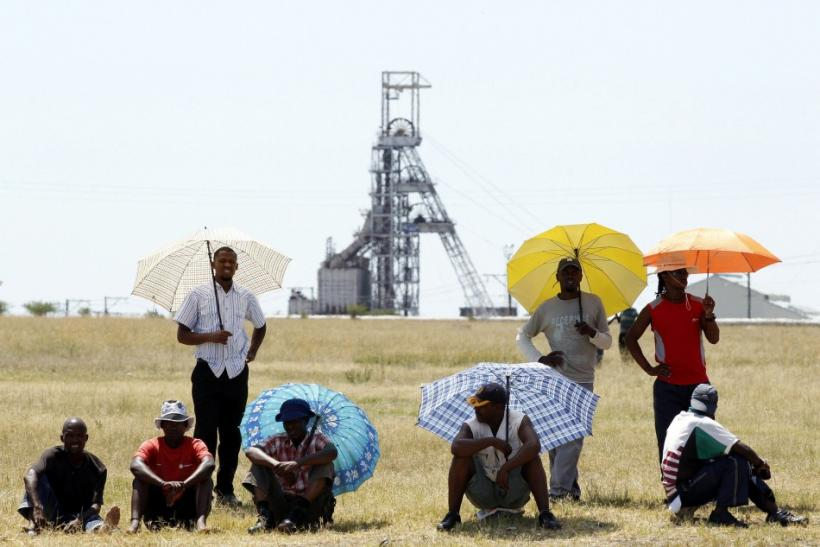 South African miners