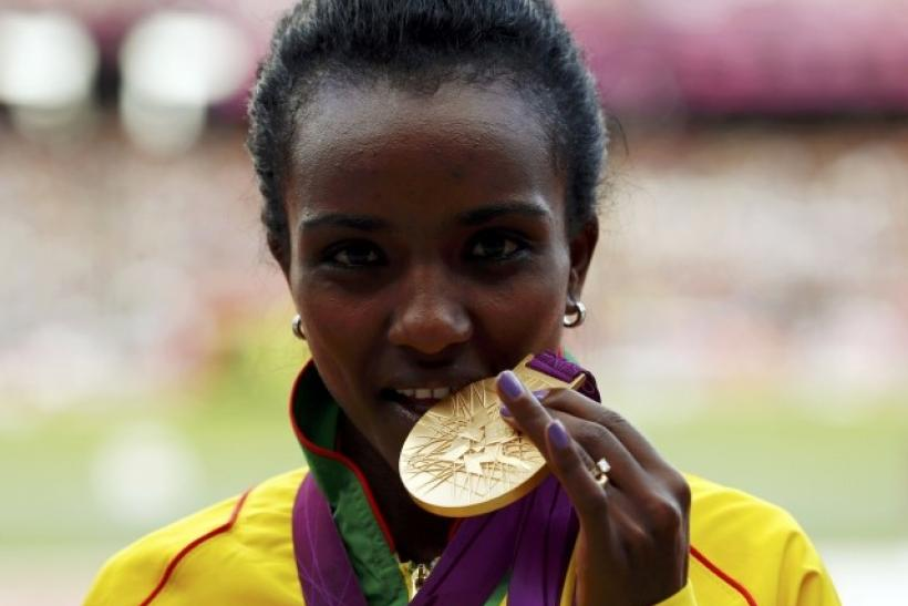 Ethiopia's Tirunesh Dibaba is expected to win another gold medal in the women's 1500m race.