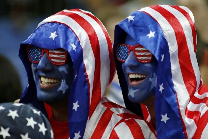 American Olympic Fans