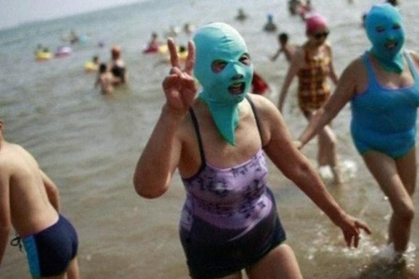 Face-Kini Swimwear Trend Sweeps China: Will It Catch On Around The World?