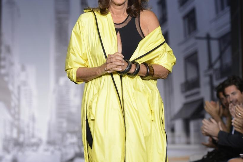 Donna Karan at her DKNY Spring 2013 at New York Fashion Week